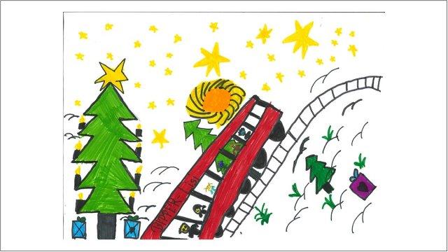 Malwettbewerb für unsere Weihnachtskarte