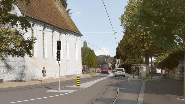 Bauprojekt an der Baselstrasse in Solothurn