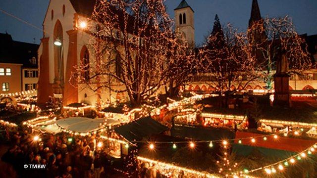 Christkindlmarkt Freiburg im Breisgau
