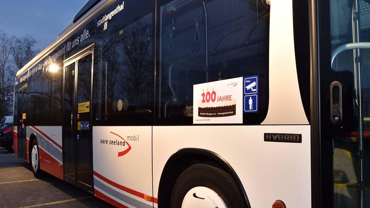 Blasen im Bus