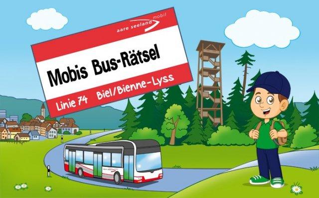 NEU! Mobis Bus-Rätsel